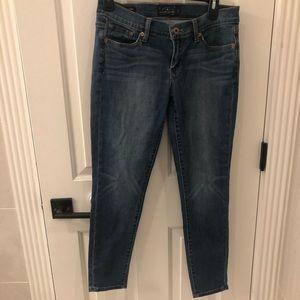 Charlie pencil Capri lucky brand jeans